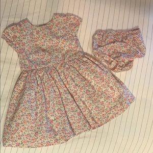 Ralph Lauren floral baby girls dress